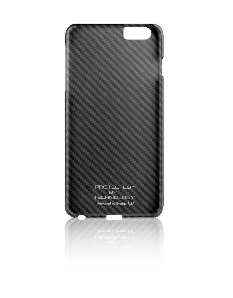 Evutec Evutec Karbon S  With No Logo Cut Out For iPhone 6/6S Plus - Black