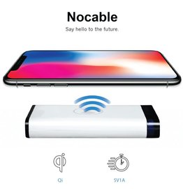NoCable Power Bank With Qi Wireless Charger 8000mAh