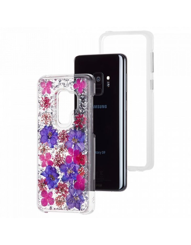 Case Mate Case Mate Karat Petals Case for Samsung Galaxy S9 Plus - Purple