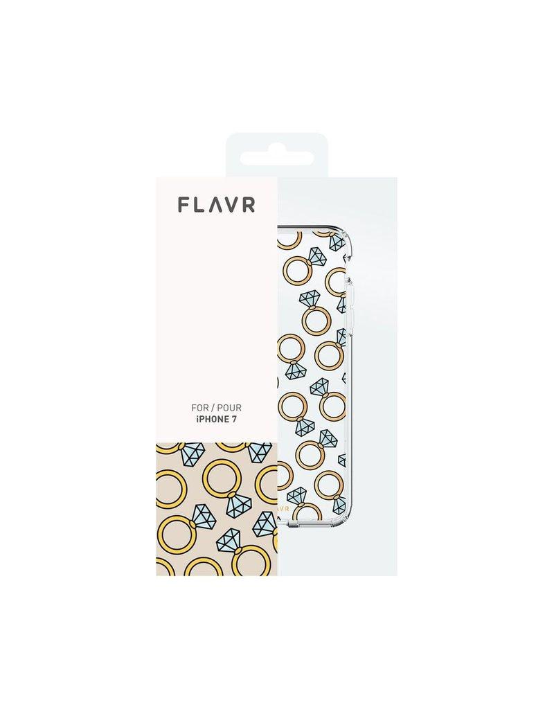 Flavr FLAVR IPLATE DIAMOND RINGS CASE IPHONE 7/8/SE