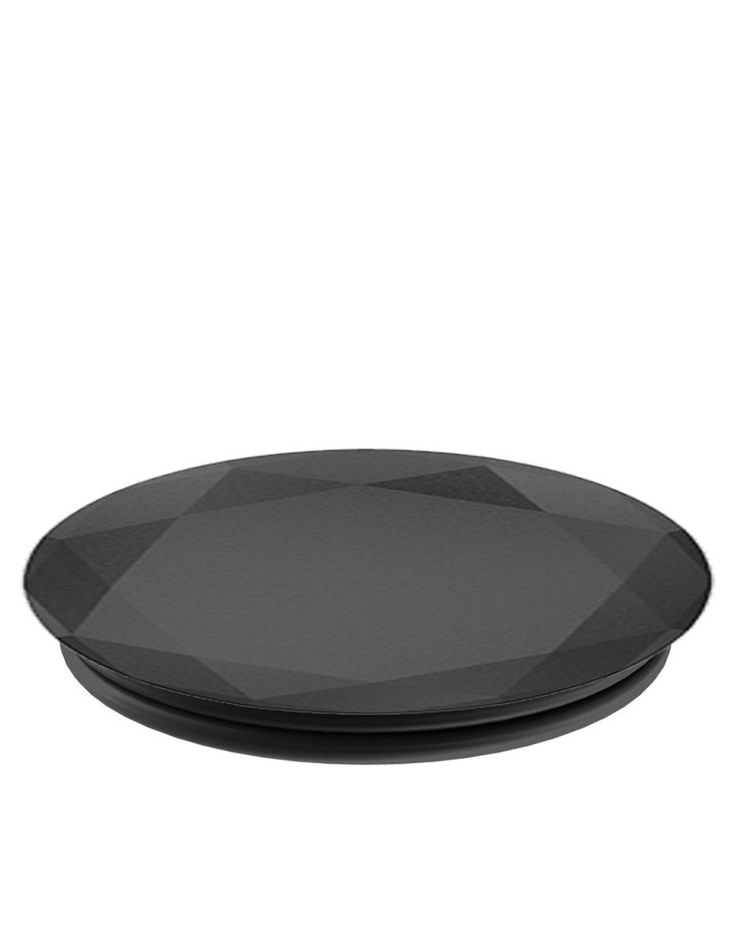 PopSockets PopSockets Device Stand and Grip  - Black Metal Diamond