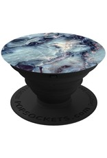 PopSockets POPSOCKETS DEVICE STAND AND GRIP - BLUE MARBLE