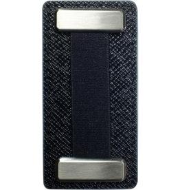 Nobiggi Nobiggi Metal Finger Strap For Phone - Black/Black