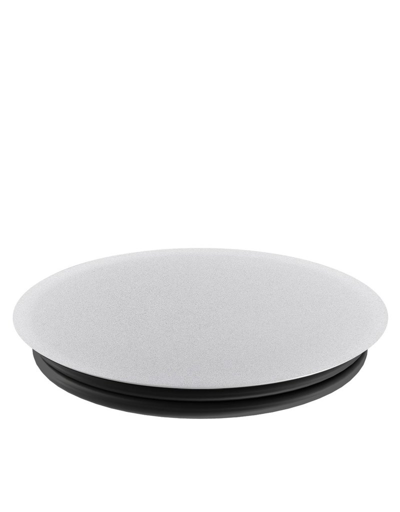 PopSockets POPSOCKETS DEVICE STAND AND GRIP - ALUMINUM SILVER