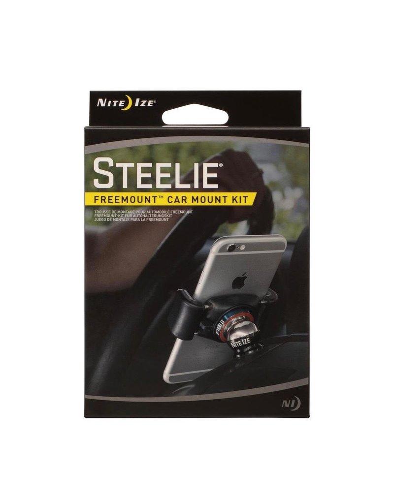 Nite Ize Nite Ize Steelie Magnetic FreeMount Car Mount Kit - Silver and Black