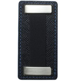 Nobiggi Nobiggi Metal Finger Strap For Phone - Black/Blue