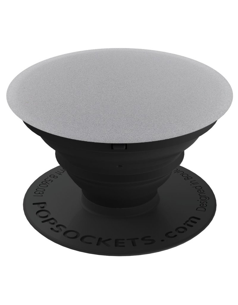 PopSockets PopSockets Device Stand and Grip - Aluminum Space Gray