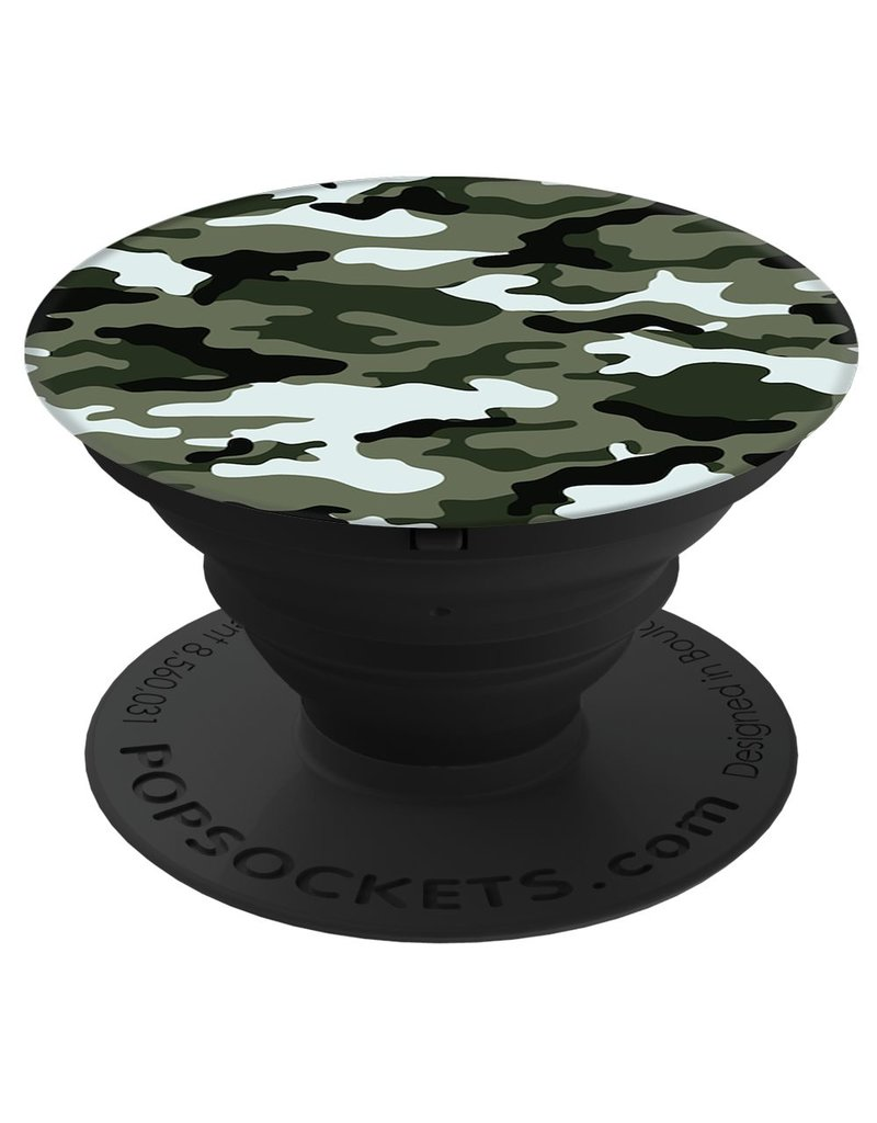 PopSockets POPSOCKETS DEVICE STAND AND GRIP - GREEN CAMO