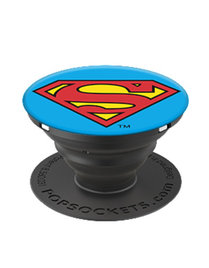 PopSockets POPSOCKETS DEVICE STAND AND GRIP - SUPERMAN ICON