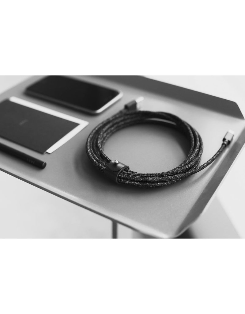 Native Union Native Union Belt XL Cable USB To Lightning 3M - Cosmos Black