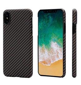 Pitaka Pitaka Aramid Case for iPhone X - Black/Gold Twill
