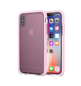 Tech21 Tech21 Evo Check Case for iPhone X - Rose Tint/White