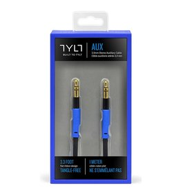 TYLT TYLT AUX 3.5mm STEREO CABLE 1M - BLUE