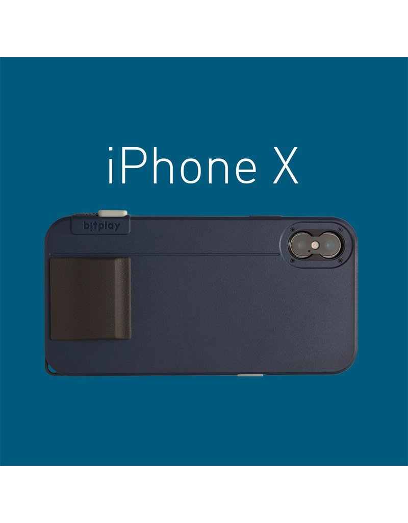 Bitplay Bitplay Snap! X Series Case for iPhone X - Midnight Blue