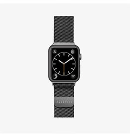 Casetify Casetify Apple Watch Band Stainless Steel All Series 42/44mm - Black