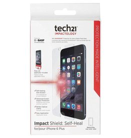 Tech21 Tech21 Impact Shield Screen Protector Cover with Self Heal for iPhone 6/6s Plus