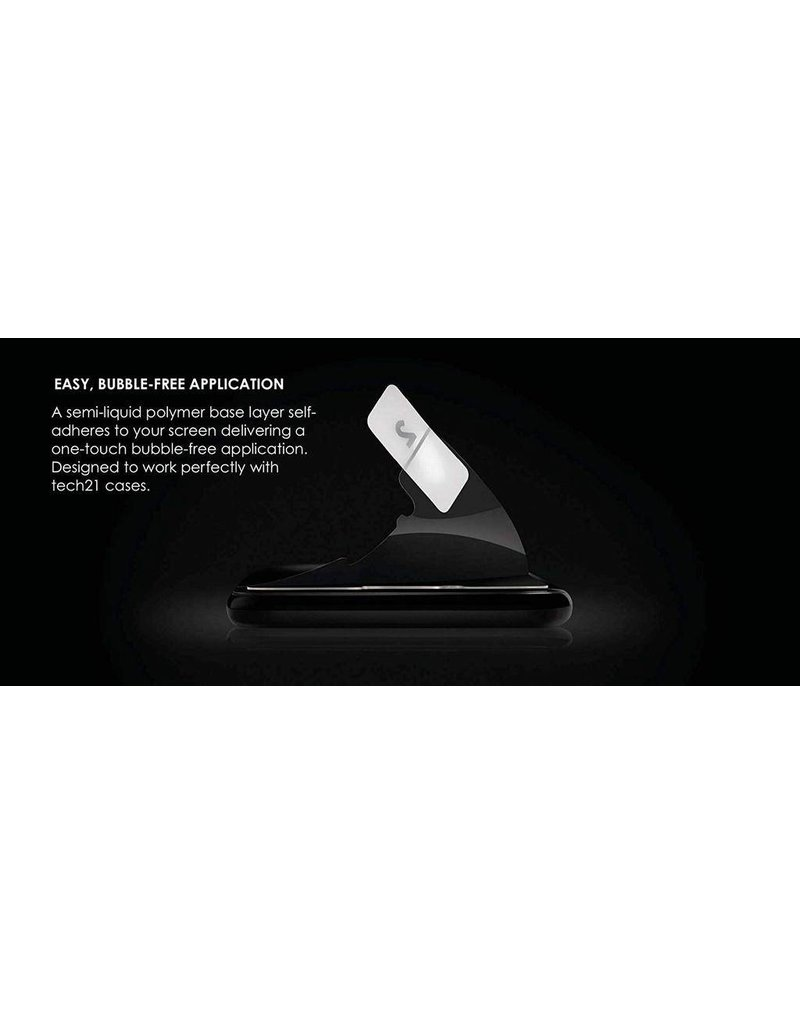 Tech21 Tech21 Impact Shield Screen Protector for iPhone X/Xs - Self Heal