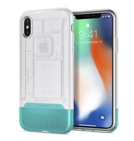 Spigen Spigen iPhone X/Xs Classic C1 Case - Snow