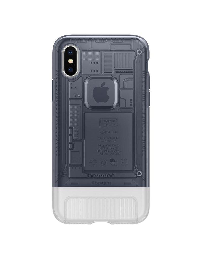 Spigen Spigen iPhone X/Xs Classic C1 Case - Graphite