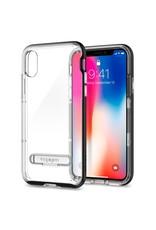 Spigen Spigen iPhone X/Xs Case Crystal Hybrid - Black/Clear