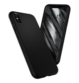Spigen Spigen iPhone X/Xs Liquid Air Slim & Soft Case - Matte Black