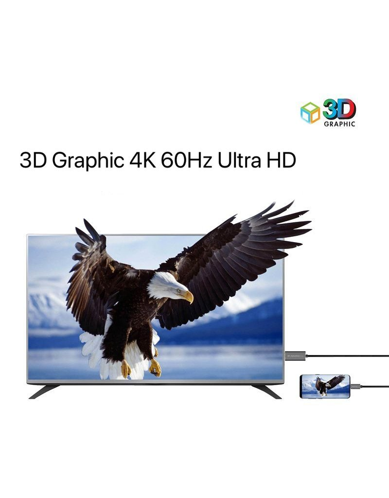 AMAZINGthing AT SupremeLink Type-C to HDMI Cable | 4K 60Hz