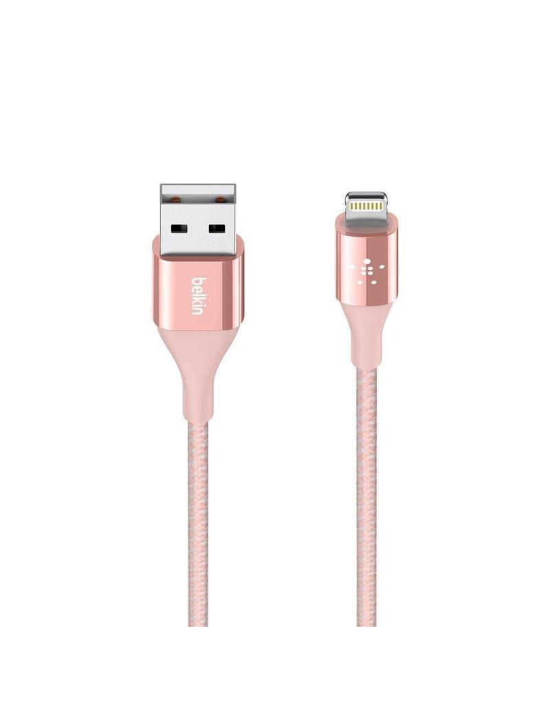 Belkin Belkin Mixit DuraTek Lightning to USB-A Kevlar Cable 1.2M - Rose Gold