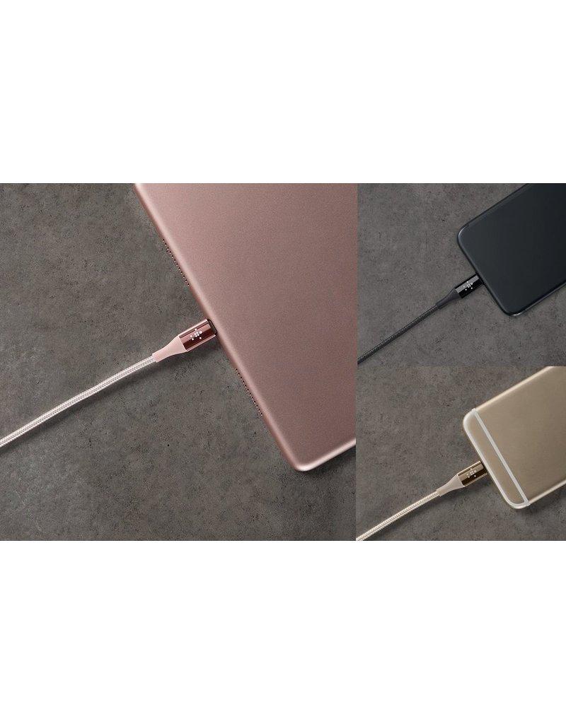 Belkin Belkin Mixit DuraTek Lightning to USB-A Kevlar Cable 1.2M - Gold