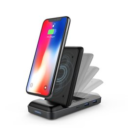 Hyper Hyper ++ Drive With 7.5W Wireless Charger USB-C Hub for MackBook