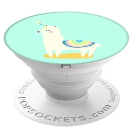 PopSockets PopSockets Device Stand and Grip - Llamacorn