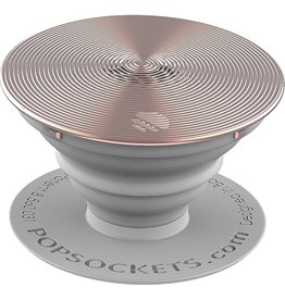 PopSockets PopSockets Twist Aluminum Device Stand and Grip - Rose Gold