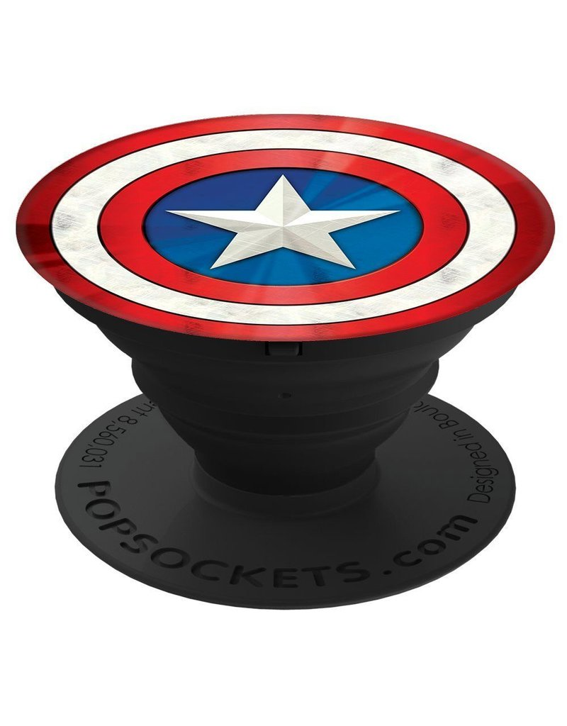 PopSockets PopSockets Marvel Device Stand and Grip - Captain American Shield Icon