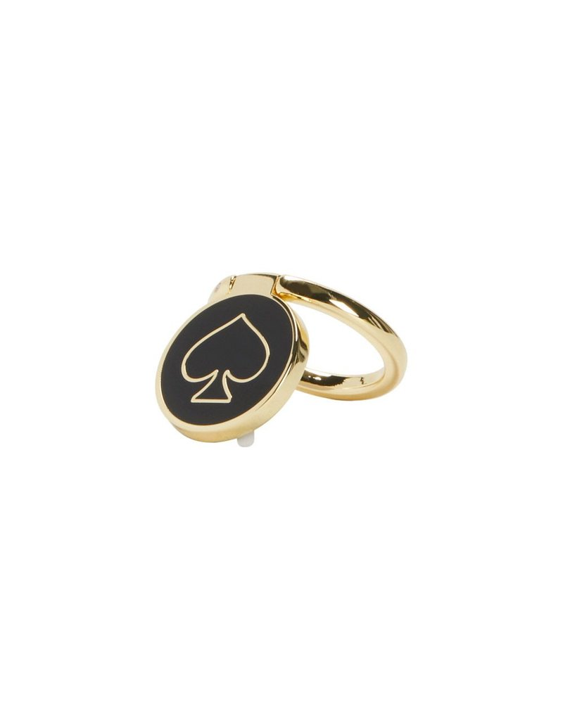 Incipio Kate Spade Stability Ring - Gold and Black Enamel