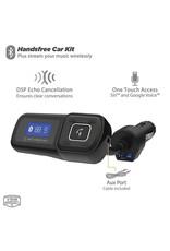 Scosche SCOSCHE Handsfree Car Kit with FM Transmitter With USB Charging Port