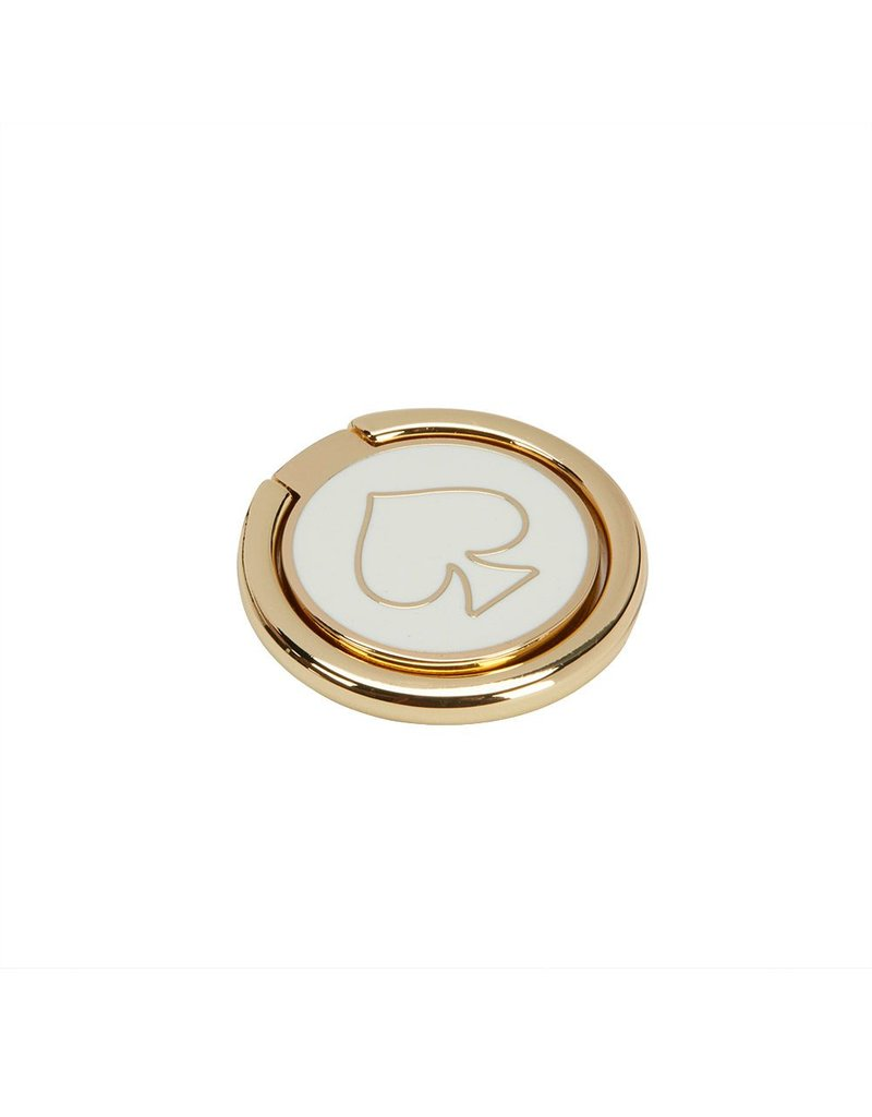 Incipio Kate Spade Stability Ring - Gold and Cream Enamel