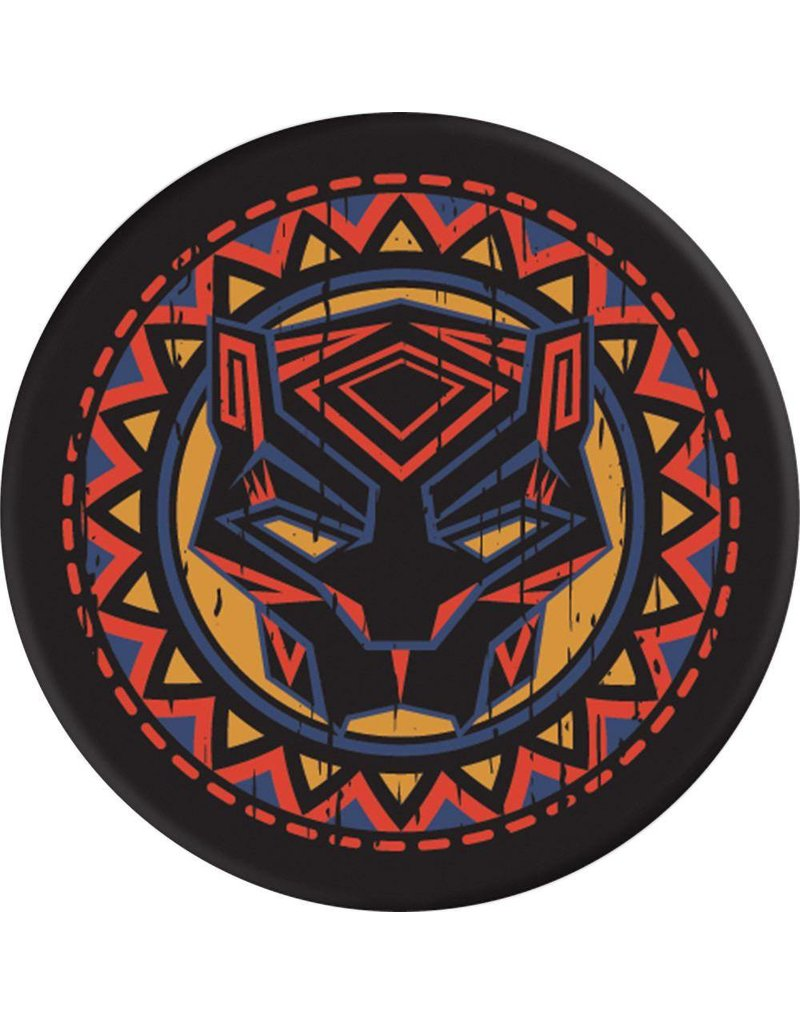 PopSockets PopSockets Marvel Device Stand and Grip - Black Panther Logo