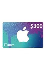 Apple iTunes Gift Card - $300 USA