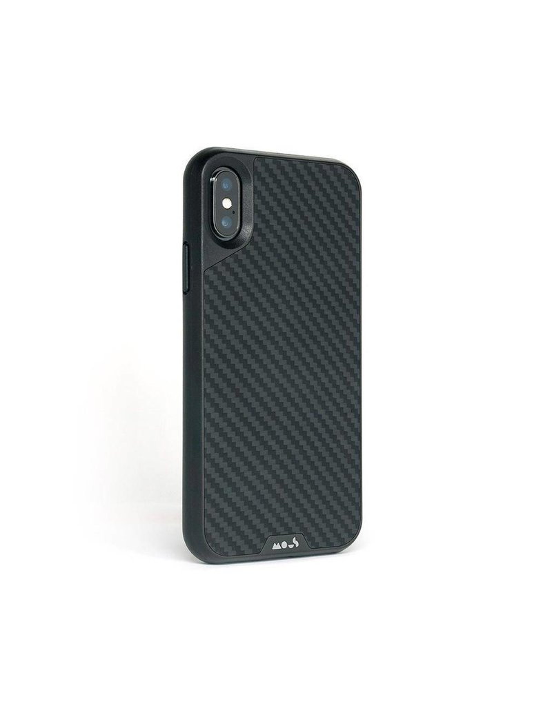 MOUS Mous Limiteless 2.0 Real Aramid Case for iPhone Xs Max - Carbon Fibre