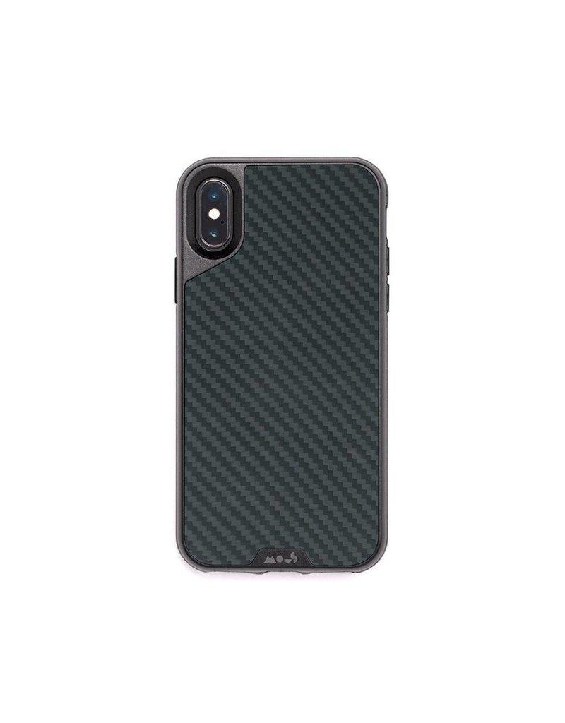 MOUS Mous Limiteless 2 0 Real Aramid Case for iPhone Xs Max - Carbon Fibre