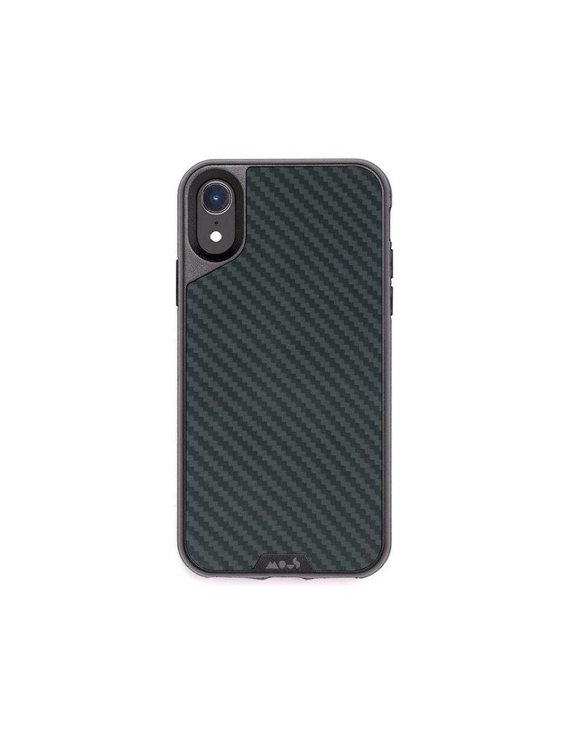 MOUS Mous Limiteless 2.0 Real Aramid Case for iPhone Xr - Carbon Fibre