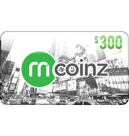 mcoinz mCoinz Gift Card - $300 USA