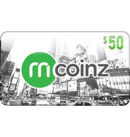 mcoinz mCoinz Gift Card - $50 USA