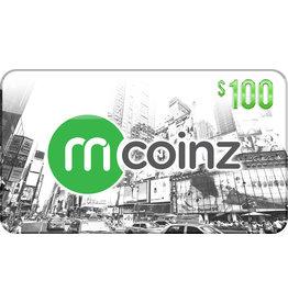 mcoinz mCoinz Gift Card - $100 USA
