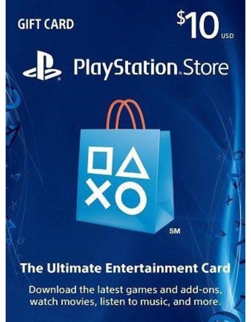 PlayStation PlayStation Gift Card - $10 USA
