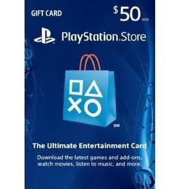 PlayStation PlayStation Gift Card - $50 USA