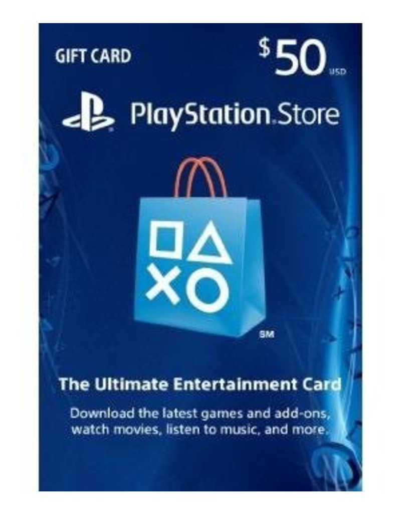 PlayStation PlayStation Gift Card - $50 USA
