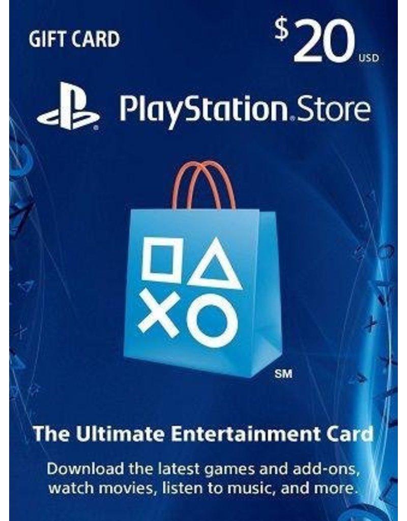 PlayStation PlayStation Gift Card - $20 USA