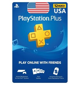 PlayStation PlayStation Plus Card - 12 Month USA