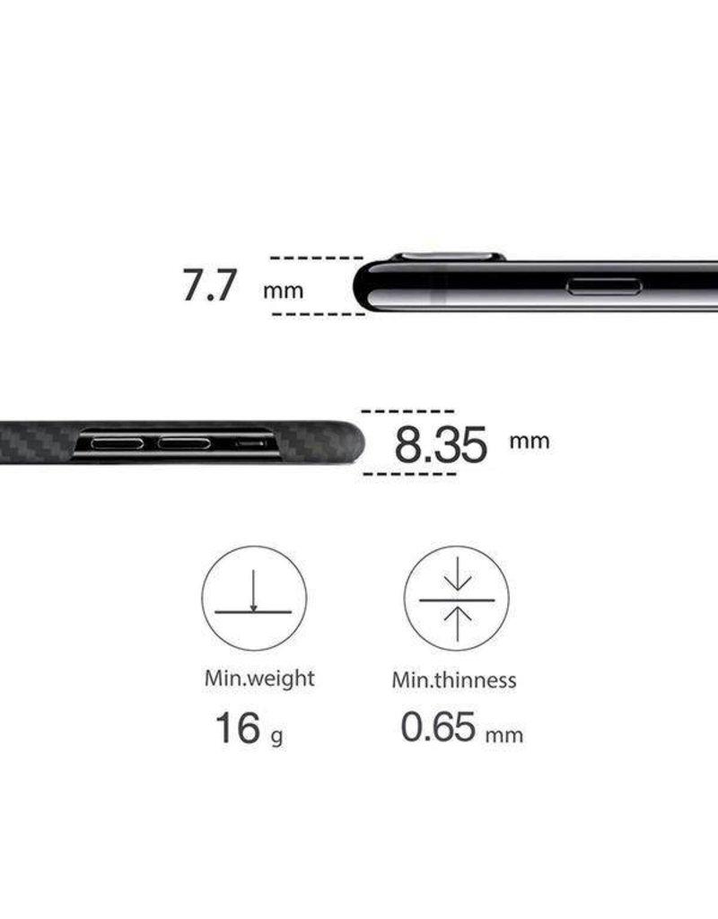 Pitaka Pitaka Aramid MagCase for iPhone Xs Max - Black/Grey Twill
