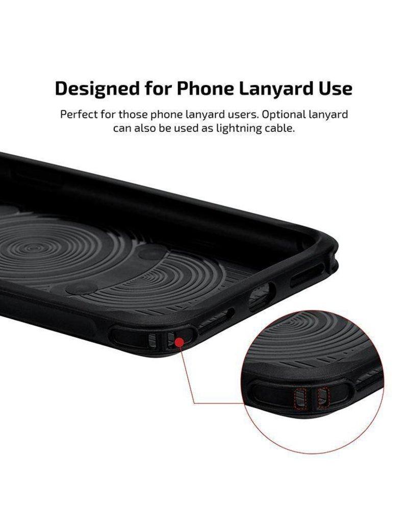 Pitaka Pitaka Aramid MagCase Pro for iPhone Xs Max - Black/Grey Twill